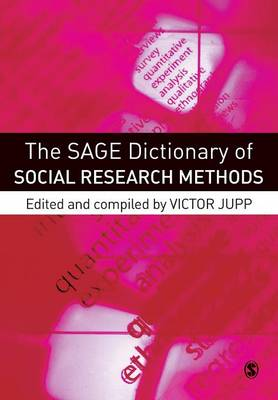 The Sage Dictionary of Social Research Methods (Paperback)