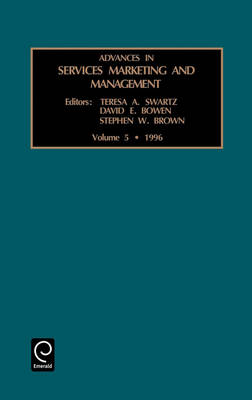Advances in Services Marketing and Management - Advances in Services Marketing and Management v. 5 (Hardback)