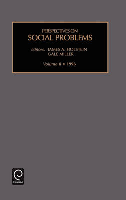 Perspectives on Social Problems - Perspectives on Social Problems S. v. 8 (Hardback)