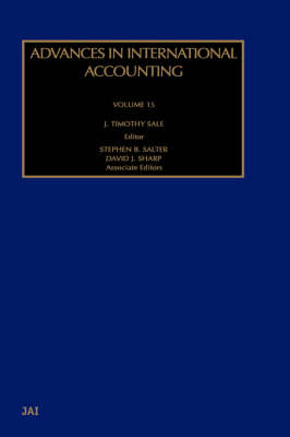 Advances in International Accounting: v. 15 - Advances in International Accounting 15 (Hardback)