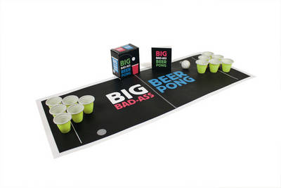 Big Bad-ass Beer Pong (Mixed media product)