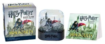 Harry Potter Hogwarts Castle Snow Globe and Sticker Kit (Mixed media product)