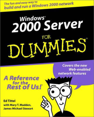 Windows 2000 Server For Dummies (Paperback)