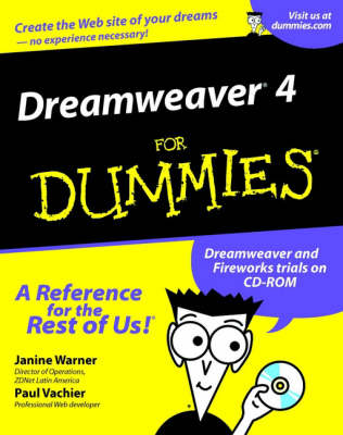 Dreamweaver 4 For Dummies (Paperback)