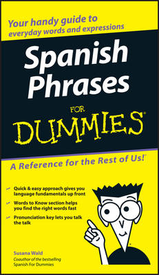 Spanish Phrases For Dummies (Paperback)