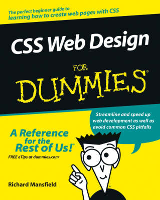 CSS Web Design For Dummies (Paperback)