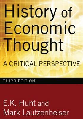 History of Economic Thought: A Critical Perspective (Hardback)