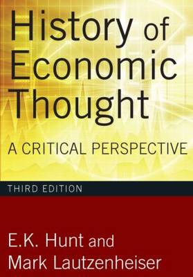 History of Economic Thought: A Critical Perspective (Paperback)