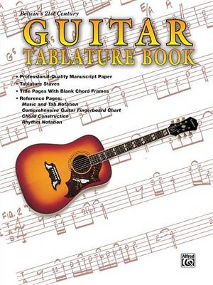 Guitar: Tablature Book (Paperback)