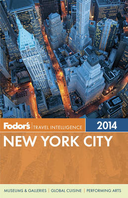 Fodor's New York City 2014 (Paperback)