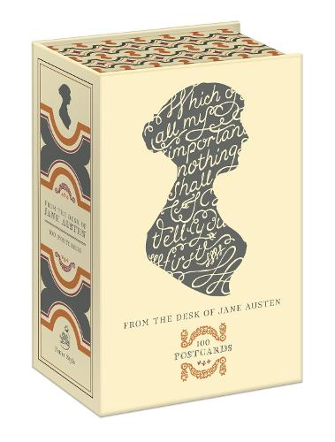 From the Desk of Jane Austen: 100 Postcards (Postcard book or pack)