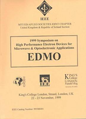 1999 Microwave & Optoelectronic Appltns H/Perf Ele (Paperback)