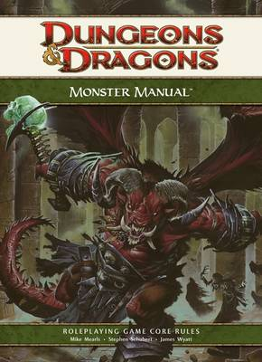 Monster Manual - Dungeons & Dragons (Hardback)