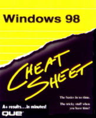 Windows 98 Cheat Sheet - Cheat sheet (Paperback)