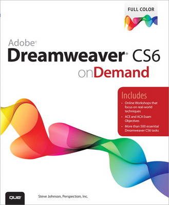 Adobe Dreamweaver CS6 on Demand (Paperback)