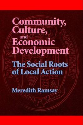 Community, Culture and Economic Development: The Social Roots of Local Action - SUNY Series, Democracy in American Politics (Paperback)