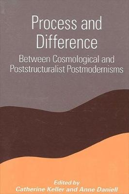 Process and Difference: Between Cosmological and Poststructuralist Postmodernisms - SUNY Series in Constructive Postmodern Thought (Hardback)