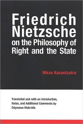 Friedrich Nietzsche on the Philosophy of Right and the State (Paperback)
