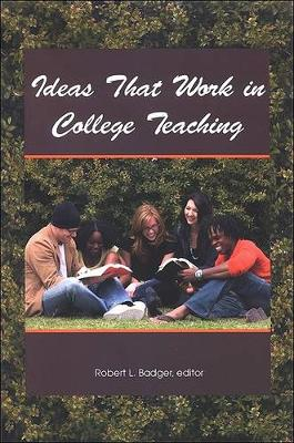 Ideas That Work in College Teaching (Paperback)