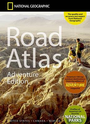 Road Atlas: Adventure Edition (Sheet map, folded)