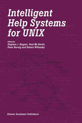 Intelligent Help Systems for UNIX (Hardback)