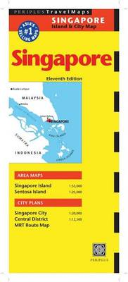 Singapore Travel Map - Periplus Maps (Sheet map, folded)