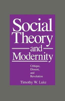 Social Theory and Modernity: Critique, Dissent and Revolution (Paperback)