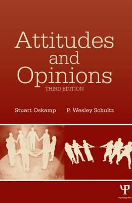 Attitudes and Opinions (Hardback)