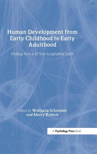 Human Development from Early Childhood to Early Adulthood (Hardback)