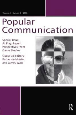 At Play PC V4#3: Recent Perspectives from Games Studies (Paperback)