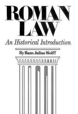 Roman Law: An Historical Introduction (Paperback)