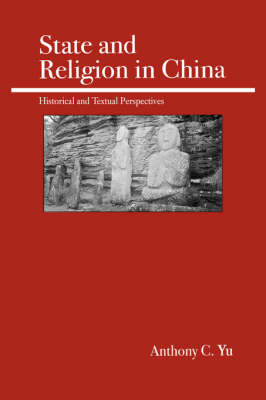 On State and Religion in China (Paperback)
