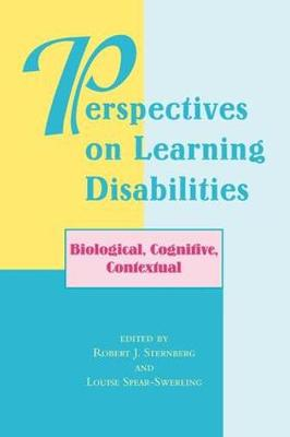Perspectives on Learning Disabilities: Biological, Cognitive, Contextual (Paperback)