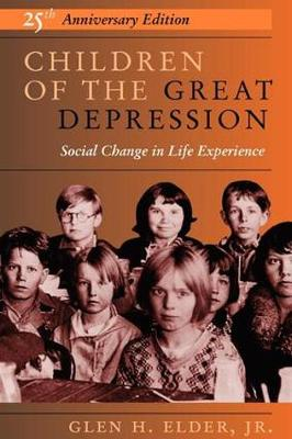 Children of the Great Depression: Study in Social Structure and Personality (Paperback)