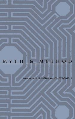 Myth and Method - Studies in Religion and Culture (Hardback)