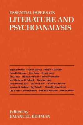 Essential Papers on Literature and Psychoanalysis - Essential Papers on Psychoanalysis (Paperback)