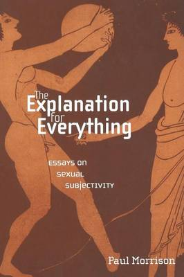 The Explanation for Everything: Essays on Sexual Subjectivity - Sexual Cultures (Paperback)