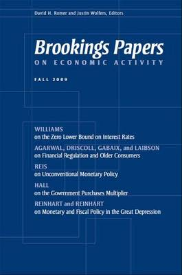 Brookings Papers on Economic Activity: Fall 2009 - Brookings Papers on Economic Activity (Paperback)