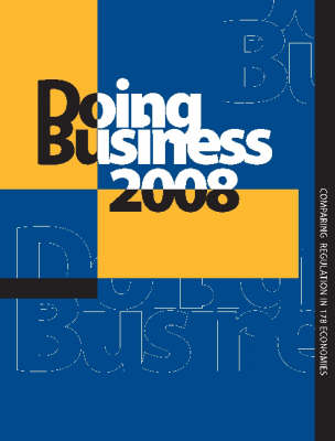 Doing Business 2008 - Doing Business (Paperback)