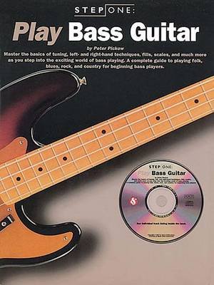 Step One Play Bass Guitar (Paperback)