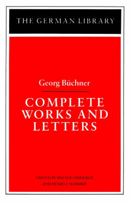 Complete Works and Letters - German Library S. (Paperback)