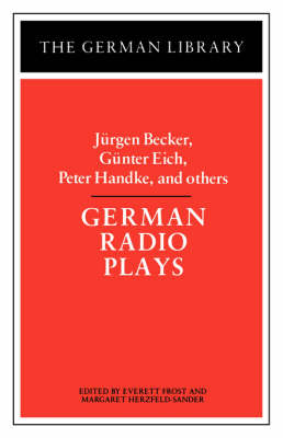 German Radio Plays - German Library S. (Paperback)