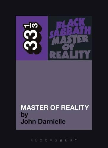 Cover Black Sabbath: Master of Reality - 33 1/3