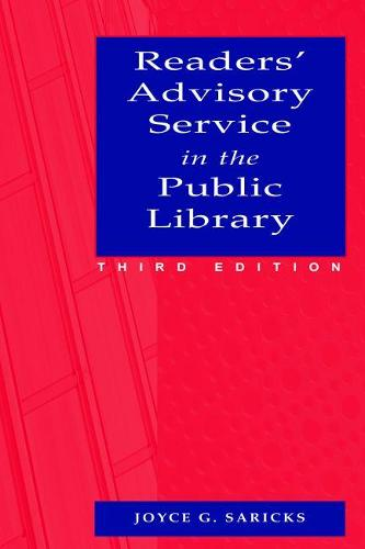 Readers' Advisory Service in the Public Library (Paperback)