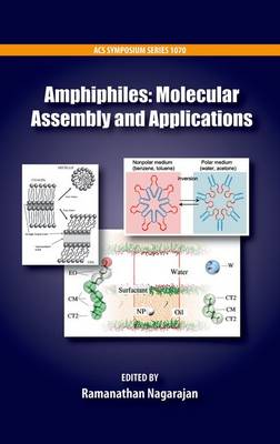 Amphiphiles: Molecular Assembly and Applications - ACS Symposium Series 1070 (Hardback)