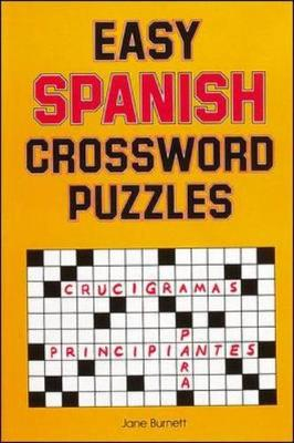 Easy Spanish Crossword Puzzles - Language - Spanish (Paperback)