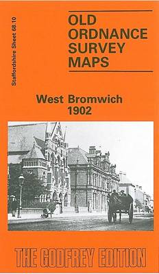 West Bromwich 1902: Staffordshire Sheet 68.10 - Old O.S. Maps of Staffordshire (Sheet map, folded)