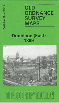 Dunblane (East) 1899: Perthshire Sheet 125.16 - Old O.S. Maps of Perthshire (Sheet map, folded)