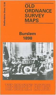 Burslem 1898: Staffordshire Sheet 12.09 - Old O.S. Maps of Staffordshire (Sheet map, folded)