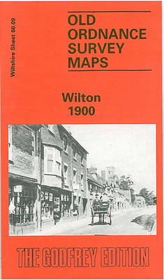 Wilton 1901: Wiltshire Sheet 66.09 - Old O.S. Maps of Wiltshire (Sheet map, folded)
